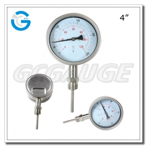 stainless steel temperature gauge